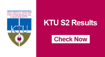 KTU B.Tech Second Semester Results