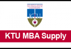 KTU MBA supply