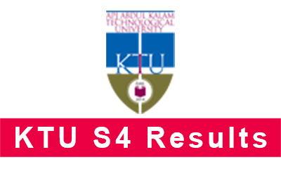 KTU B.Tech S4 Exam Results 2017 Published