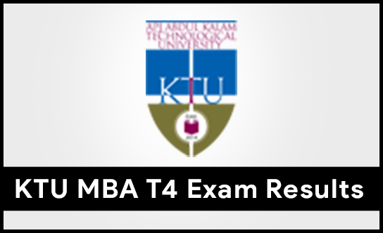 KTU MBA T4 Exam Results Published
